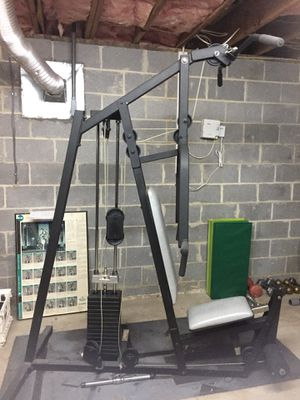 Old school multi function exercise machine for Sale in Annandale, VA