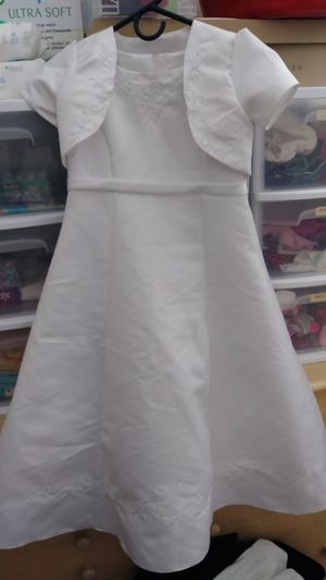 Baptism/blessing dress size 6 kids for Sale in Bountiful, UT