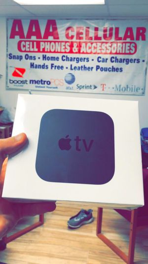 Apple TV 4th Gen - 4K - Comes with Remote - Brand New in Box! One Year Warranty! for Sale in Arlington, TX