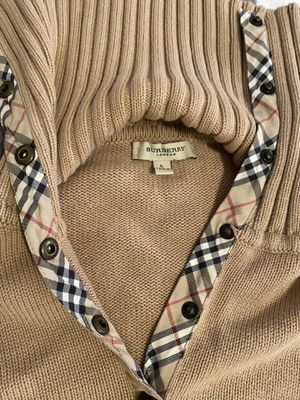 Burberry Pullover Knitted Shirt for Sale in Chicago, IL