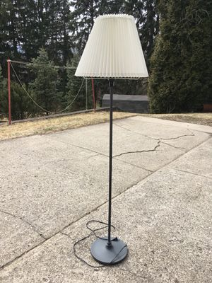 Grey floor lamp for Sale in Ambridge, PA