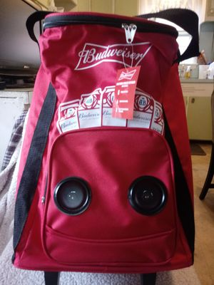 BUDWEISER BLUETOOTH COOLER for Sale in Dillsburg, PA