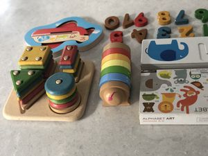 Plan toys puzzle lot for Sale in Tampa, FL