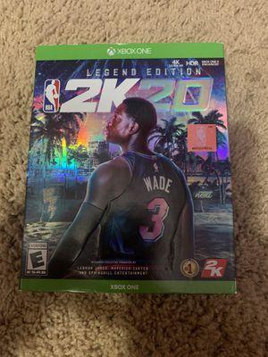 NBA 2k20 Xbox one for Sale in Selma, CA