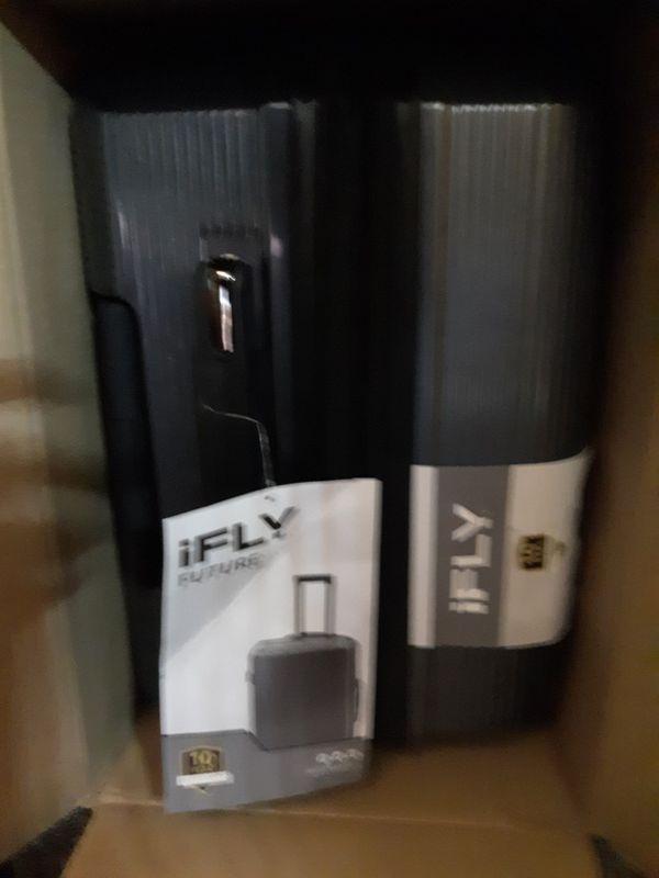 Black hard cover luggage