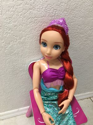 "Disney The Little Mermaid 32"" tall Poseable doll for Sale in Hialeah, FL"