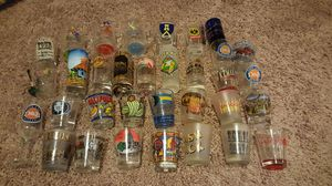 33x Random Shot Glasses from around the world for Sale in Leander, TX