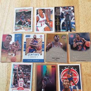 Isiah Thomas Detroit Pistons NBA basketball cards for Sale in Gresham, OR