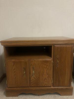 Solid Wood Cabinet for Sale in Pekin, IL
