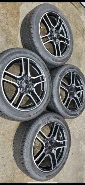 2019 Ford Mustang gt tires and rims for Sale in Houston, TX