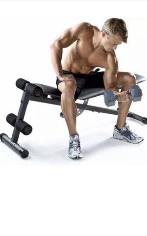 Workout bench decline incline for Sale in Tampa, FL