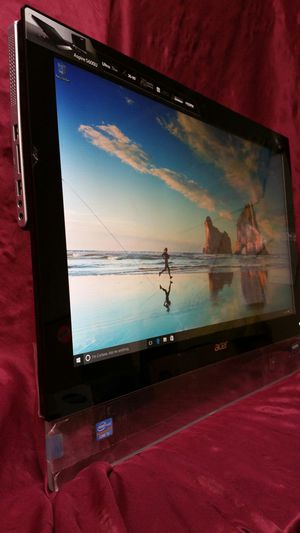 """Acer 23"""" all-in-one PC Computer intel core i5 2.6GHz 500GB 6GB for Sale in Richardson, TX"""