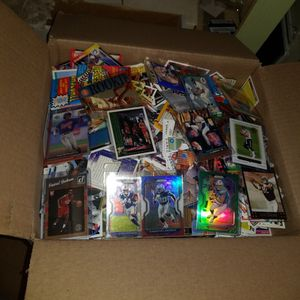 Sports cards- huge basketball cards , football cards , baseball cards around 20lbs, packs unopened. Lot #20 for Sale in Roseburg, OR