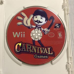 Carnival Games For Nintendo Wii for Sale in Miami, FL