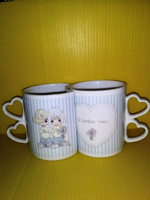 Mug SET - A Perfect Team, Precious Moments for Sale in Raleigh, NC
