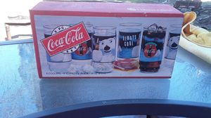 8 pack Coca-Cola collectible glass cups from 1992 for Sale in Lodi, CA
