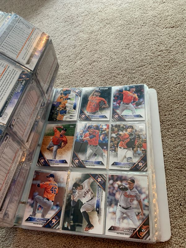 2016 full set of baseball cards