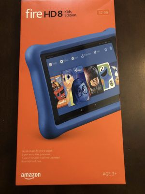 New Amazon Fire HD 8 Kids Edition Tablet 8 - 32GB - Blue for Sale in Austin, TX