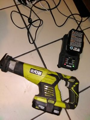 Ryobi one plus receprocating saw kit for Sale in Stockton, CA