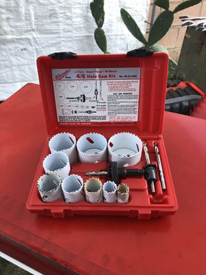 Milwaukee 4/6 Hole Saw Kit 13 Pc. for Sale in La Puente, CA