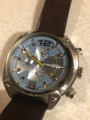 """Diesel """"Only The Brave"""" Chronograph 330ft watch for Sale in Bartlesville, OK"""