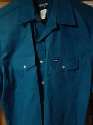 Brand new wrangler welding shirts for Sale in Converse, TX