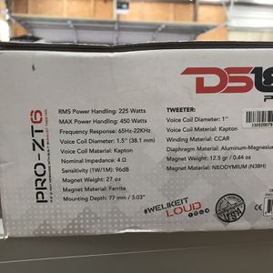 Ds18 6.5 Speaker for Sale in Denton, TX