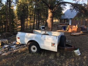 69 Chevy 1 ton pick up bed trailer for Sale in Woodland Park, CO