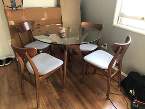 West Elm Dining Table + Chairs for Sale in Chula Vista, CA