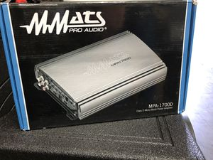 MMATS Pro Audio MPA-1700d Amp for Sale in Fort Lauderdale, FL