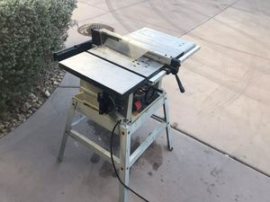 Table saw for Sale in Moapa, NV