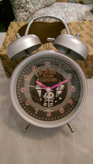 Disney Nightmare Before Christmas Alarm Clock for Sale in Virginia Beach, VA
