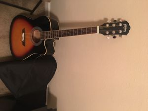 Washburn Guitar with Digital Tuner (Includes Bag and Plectrum) for Sale in Nashville, TN