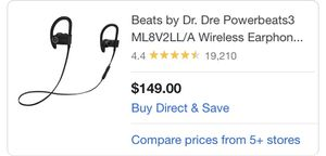 Beats by Dre Powerbeats 3 for Sale in San Marcos, TX