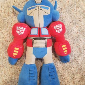 Universal Studios Exclusive, Transformers The Ride, Universal Studios 18 inch Optimus Prime Plush . for Sale in Kings Park, NY