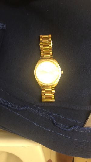 Gold Micheal kors Watch for Sale in Washington, DC