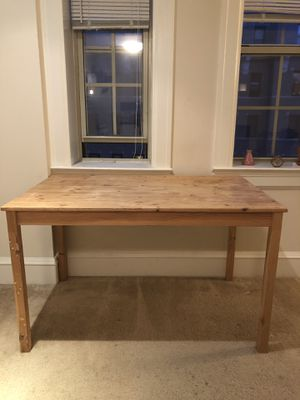 Wooden IKEA Ingo kitchen table or dining room table for Sale in Washington, DC