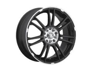 SET OF 4 BLACK 18x7.5 ICW RACING SHOGUN TYPE 204MB 5 BOLT ALUM RIM for Sale in Decatur, GA