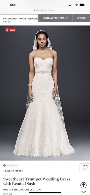 Wedding Dress and silhouette slip for Sale in St. Petersburg, FL