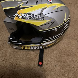 Helmet And 100 Percent Goggles for Sale in Apple Valley, CA