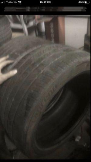 Tires two laufenn 245/40/17 70% tread for Sale in Temecula, CA