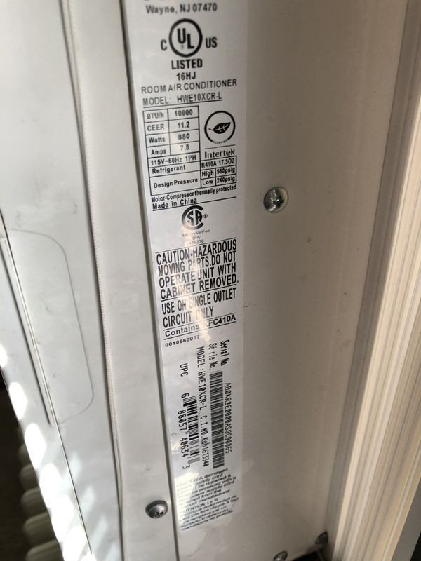 Haier window ac unit