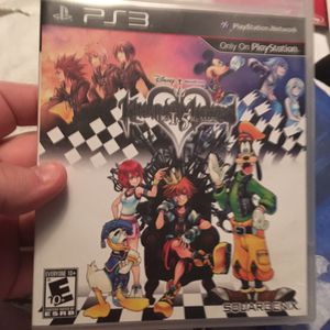 Kingdom heart hd 1.5 remix PlayStation 3 for Sale in Parma, OH