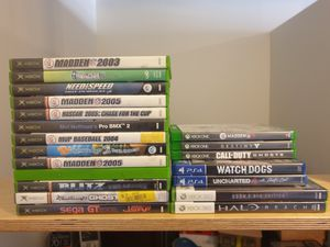 Xbox / xbox 360 / xbox one / PS4 Games for Sale in Denver, CO