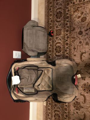 Eddie Bauer Infant car seat & a booster seat both for sale for Sale in Chantilly, VA