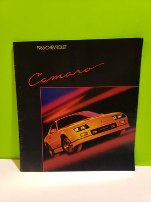 1985 Chevy Chevrolet Camaro Sales Brochure for Sale in Denver, PA