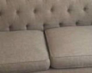 Tan Tufted Couch And Loveseat for Sale in Tampa,  FL