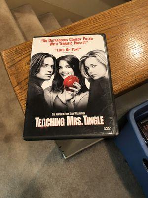 Teaching Mrs. Tingle DVD Movie 1999 Helen Mirren Katie Holmes for Sale in Buena Park, CA