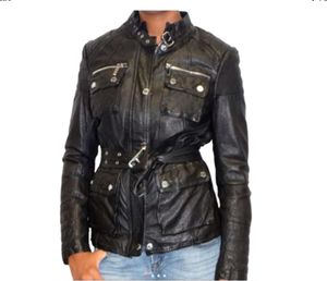 Michael Kors leather jacket sz 4 for Sale in Cumming, GA