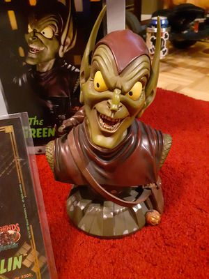Green goblin statue/collectible for Sale in PT CHARLOTTE, FL